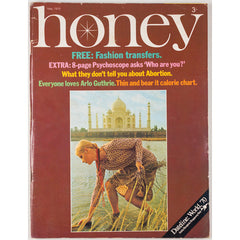 Honey Magazine UK May 1970 Arlo Guthrie Abortion India Bangkok