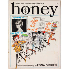 Honey Magazine UK March 1966 Edna O'Brien