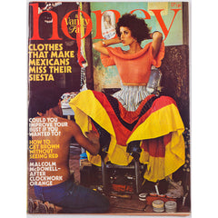 Honey Magazine UK July 1973 Malcolm McDowell Mexico