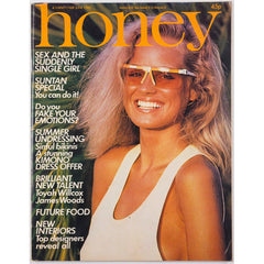Honey Magazine UK June 1980 - Toyah Wilcox Swimwear James Woods