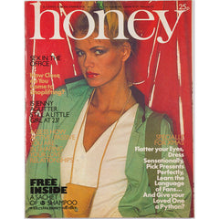 Honey Magazine UK December 1976 - Jenny Agutter at 23 The Beach Boys