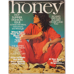 Honey Magazine UK June 1976 Emmylou Harris & Richard Dreyfuss