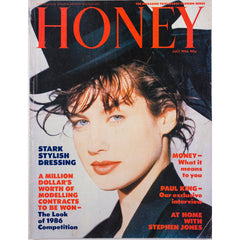 Honey Magazine UK July 1986 - Stephen Jones & Mark LeBon