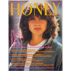 Honey Magazine UK June 1983 - Comedy Dawn French, Victoria Wood & Maureen Lipman Castaway