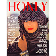 Honey Magazine UK May 1981 - Lily Tomlin London Night Work