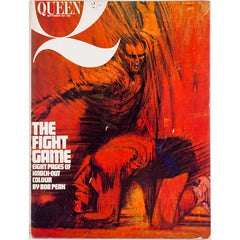 Queen magazine from 25th Sepember 1962 Bob Peak illustrates Boxing