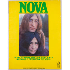 John Lennon and Yoko Ono iconic cover of Nova magazine March 1969