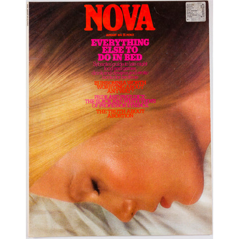 Nova Magazine UK January 1974 - The Truth about Abortion - Sybarites