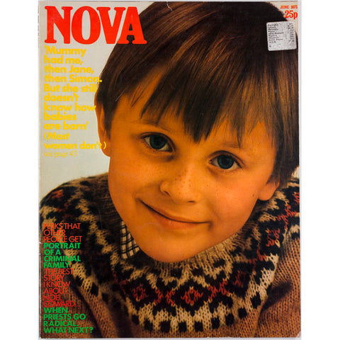 Nova Magazine UK June 1973 Portrait of a criminal family