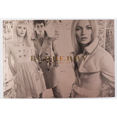 BURBERRY Mario Testino KATE MOSS Stella Tennant PENELOPE TREE Lookbook 2007