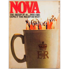 Nova Magazine UK April 1966 The Queen at 40