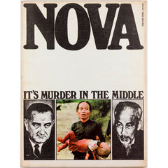 Nova Magazine UK May 1966 It's murder in the middle: Vietnam War