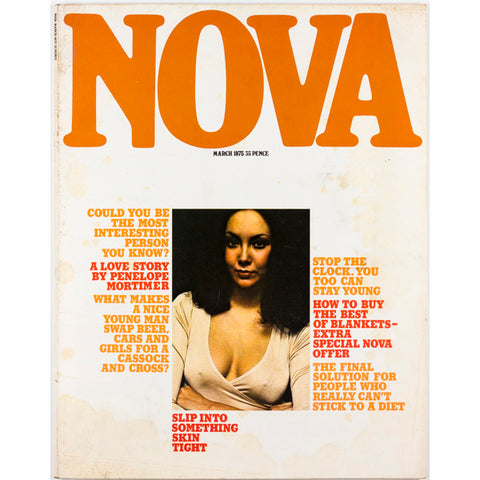 Nova Magazine UK March 1975 Slip into something skintight