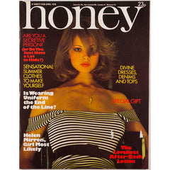Honey Magazine April 1976 - Helen Mirren