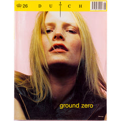 Dutch Magazine Number 26 2000 Kirsten Owen Steven Klein Balenciaga Ground Zero