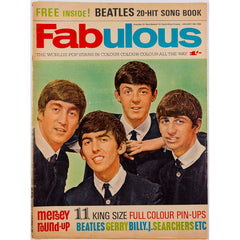 The Beatles cover of The First Issue of Fabulous 18th January 1964