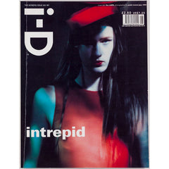 Paolo Roversi Cover The Intrepid Issue I-D Magazine June 1999