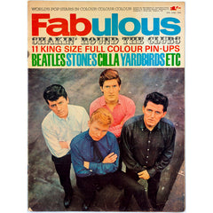Yardbirds Cilla Black Rolling Stones Fabulous magazine 27th June 1964