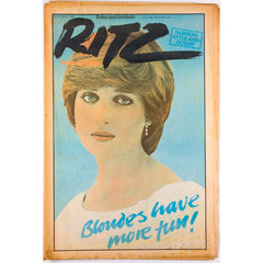 Lady Diana Spencer Snowden YSL Catwalk RITZ Magazine No 51 1981 vtg