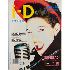 David Bowie interviewed Nic Roeg I-D UK July 1987