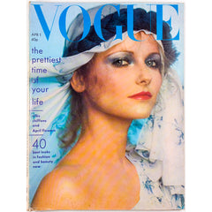 Cheryl Tiegs Marie Helvin Barry Lategan Vogue magazine 1st April 1975