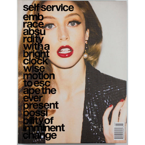Self Service magazine No 30 2009 Raquel Zimmermann Spring Summer