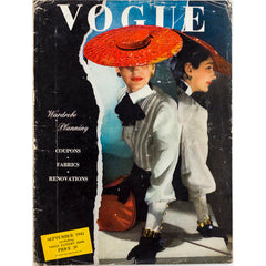 HORST Lee Miller BETTY McLAUCHLEN British Vogue magazine 1943 WWII vtg