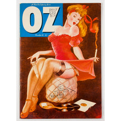 ANGRY OZ James McCann Ronnie Biggs Grass? Oz Magazine No. 37 from 1971