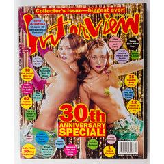 Kate Moss Devon Aoki Brooke Shields Anna Friel Interview magazine 1999