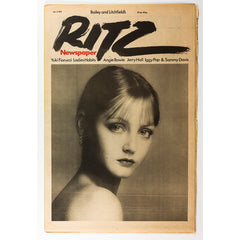 Antonio Lopez Angie Bowie Jerry Hall Ingrid Boulting RITZ Magazine No 4 1977