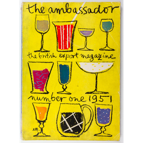 The Ambassador magazine 1951 Trude Ettinger British post war Fashion Prints