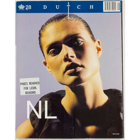 Dutch Magazine Issue Number 28 2000 Guinevere Van Seenus RARE cover