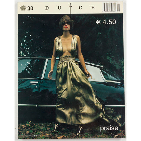 Dutch magazine no. 38 2002 Katja Rahlwes YSL Diane Pernet Richard Burbridge