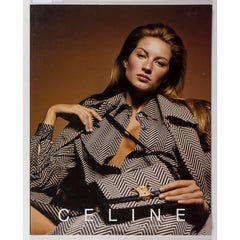 CELINE Gisele Bundchen PATRICK DEMARCHELIER Lookbook Autumn Winter 2000-2001
