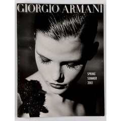 GIORGIO ARMANI Stella Tennant MENSWEAR WOMENSWEAR Lookbook SS 2001