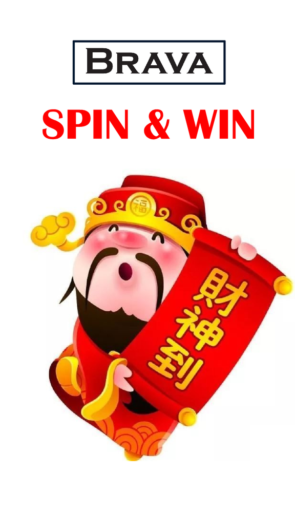 2019 Chinese Year NEW SPIN & WIN Contest !