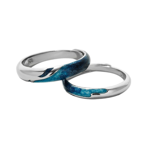 Couple Ring Ocean