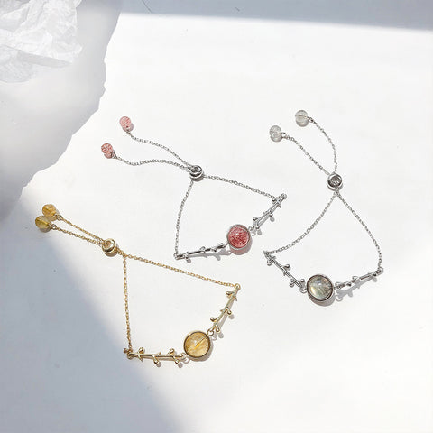 B012 925 Luck Crystal  Bracelet