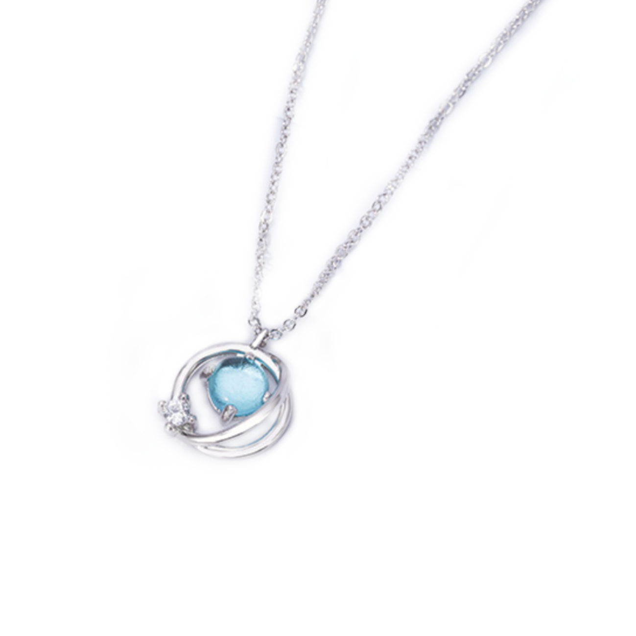 925 Silver Planet Necklace