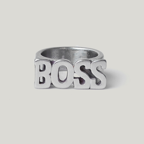European and American Fashion Jewelry BOSS Ring