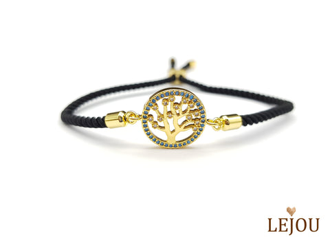 Life Tree - Crystal Life Tree Bracelet