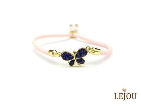 Life Tree - Crystal Dragonfly Bracelet