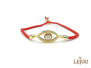 Life Tree - Crystal Eye Bracelet