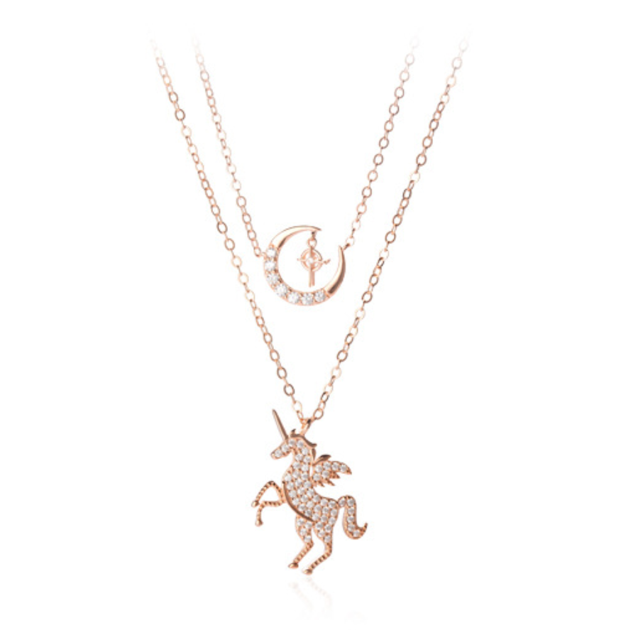 (Limited Edition) - 925 Silver Unicorn & Moon [52 Pieces Only]