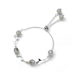 925 Silver Moon Stone Bracelet - VIP ONLY