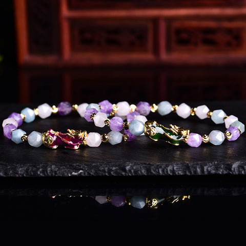 B059 Sweet color pixiu bracelet