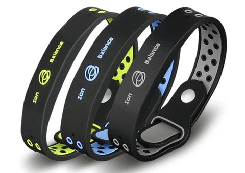 Anti-radiation negative ion energy balance bracelet