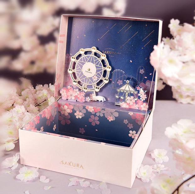 Sakura Ferris Wheel Gift Box