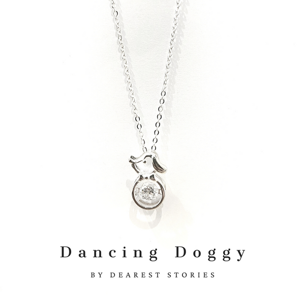 D005 - 925 SILVER - DANCING DOGGY