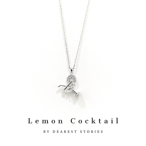 D037 - 925 SILVER - LEMON COCKTAIL